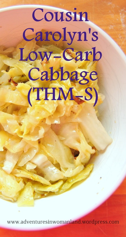 Cousin Carolyn's Low-Carb Cabbage