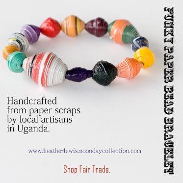 paper bead bracelet edited